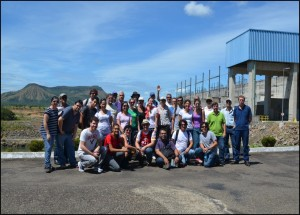Group at Lajeado Dam Tocantins